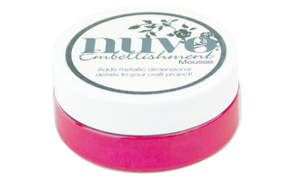 813N NUVO EMBELLISHMENT MOUSSE 2 2OZ PINK FLAMBE