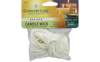 30102 COUNTRY LANE CANDLE WICK BRAIDED 1 PKG 18