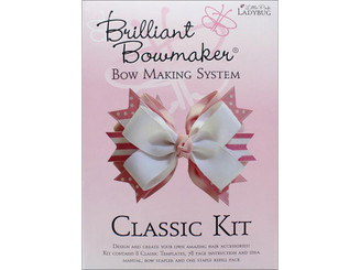 0102 LITTLE PINK LADYBUG BRILLIANT BOWMAKER KIT CLASSIC