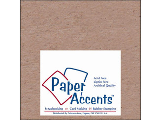 ADP0606-25 CHIPCB CHIPBOARD 6X6 1X HEAVY 52PT 25PCPK NATURAL