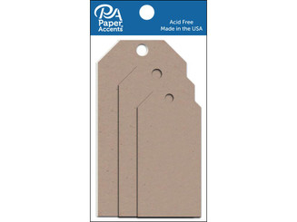 ADPCTAG-AST 304 CRAFT TAGS ASTD SIZE 25PC RECYCLED KRAFT