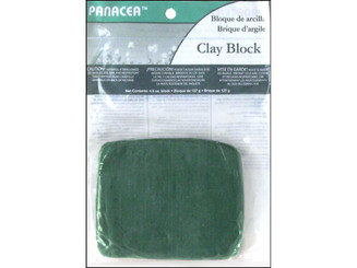 60030 PANACEA FLORAL STICKY CLAY BLOCK 4 5OZ GREEN