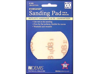 1400 EVERSAND SANDING PAD CARD SMALL 100 220 FINE-MED