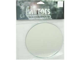 1633-84 DARICE MIRROR PKG ROUND 4 1PC