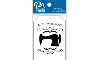 PAPER ACCENTS ADPTAG 102 TAGS 2 13X3 25PC SEWING MACHINE BIRCH ADPTAG.102