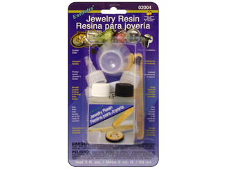 2004 ENVIROTEX JEWELRY RESIN 2OZ CARDED