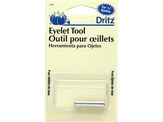 104T DRITZ EYELET HAND TOOL FOR 1 8 EYELETS
