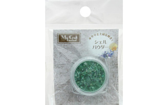 RS-257 RESINATE SHELL POWDER 2 5GM GREEN