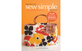 4826 LEISURE ARTS THE BEST OF SEW SIMPLE BK
