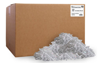 PAW00730 PA ESS CRINKLE SHRED BOX 10LB IRIDESCENT WHITE