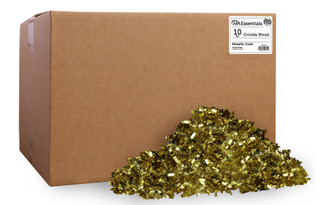 PAW00727 PA ESS CRINKLE SHRED BOX 10LB METALLIC GOLD