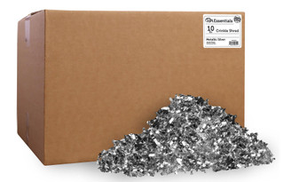 PAW00725 PA ESS CRINKLE SHRED BOX 10LB METALLIC SILVER