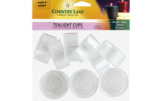 90204 COUNTRY LANE POLYCARBONATE TEALIGHT CUP 12PC