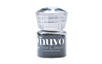 587N NUVO EMBOSSING POWDER 68OZ FINE DETAIL JET BLACK