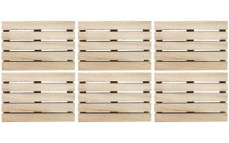PA SPECIAL ASSORTMENTS SPCCAL283 WOOD PALLET MINI 4 75 NATURAL 6PC
