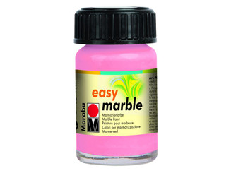 13059039033 MARABU EASY MARBLE PAINT 5OZ ROSE PINK