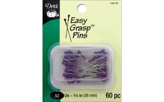 135-40 DRITZ EASY GRASP PINS 1 5 60PC