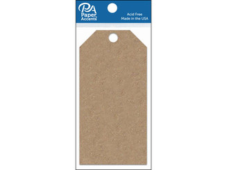 ADPCTAG-MED 357 CRAFT TAGS 2 5X5 25 25PC BROWN BAG