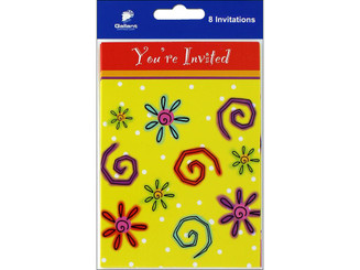 80999 GALLANT GREETINGS GENERAL PARTY INVITATION 8CT 5