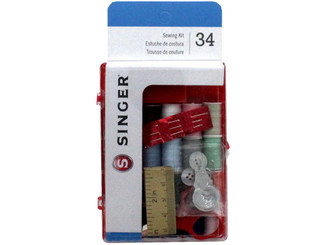 00279 SINGER SEWING KIT DELUXE POLY 20PC ASTD COLORS