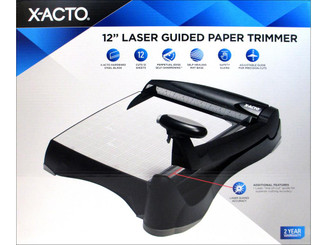 26234 X-ACTO PAPER TRIMMER 12 GUILLOTINE LASER