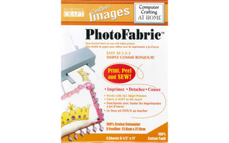 010601014 BLUMENTHAL CRAFTERSIMAGES PHOTOFABRIC CTNTWILL 5PC