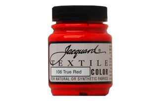 106 JACQUARD TEXTILE COLOR 2 25OZ TRUE RED