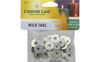 36003 COUNTRY LANE WICK TAB 15MM 50PC