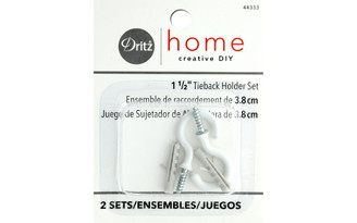 44333 DRITZ HOME TIE BACK HOLDERS 1 5 2PC