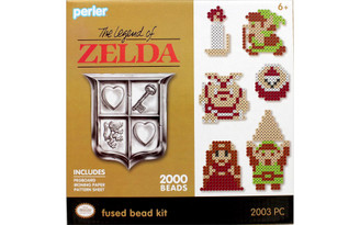 80-54244 PERLER FUSED BEAD KIT BOX 2000PC LEGEND OF ZELDA