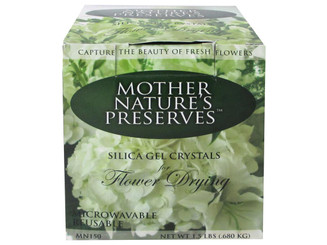 MN150 MOTHER NATURE S PRESERVES SILICA GEL CRYSTL 1 5LB