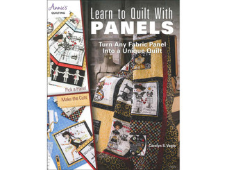 1413721 ANNIE S LEARN TO QUILT WITH PANELS BK