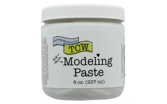 TCW9005 THE CRAFTERS WORKSHOP MODELING PASTE 8OZ WHITE