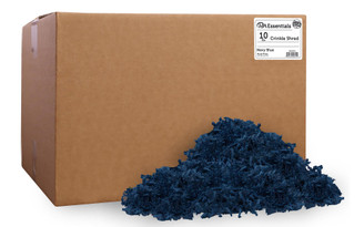 PAW00701 PA ESS CRINKLE SHRED BOX 10LB NAVY BLUE