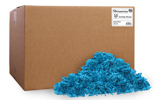 PAW00703 PA ESS CRINKLE SHRED BOX 10LB LIGHT BLUE