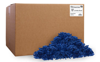 PAW00702 PA ESS CRINKLE SHRED BOX 10LB ROYAL BLUE
