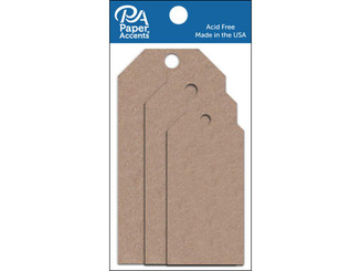 ADPCTAG-AST 357 CRAFT TAGS ASTD SIZE 25PC BROWN BAG