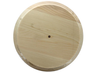 23026 WALNUT HOLLOW CLOCK SURFACE PINE LARGE ROUND 11