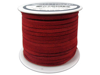 SOS25 2010 SILVER CREEK SUEDE LACE 1 8 X25YD RED