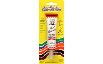919 AUNT MARTHA S TUBE PAINTS 1OZ BRICK