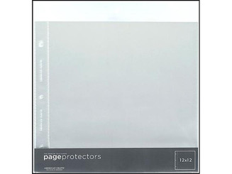76711 AMC PAGE PROTECTOR 12X12 10PC