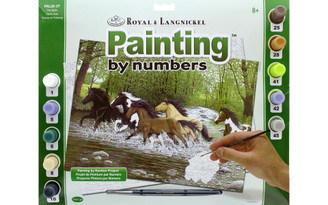 PAL26 ROYAL PAINT BY NUMBER ADULT LG FREE SPIRITS