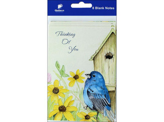 80961 GALLANT GREETINGS THINKING OF YOU CARD 8CT BIRD