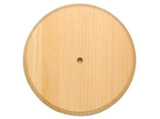53212 WALNUT HOLLOW CLOCK SURFACE PINE SM ROUND 7