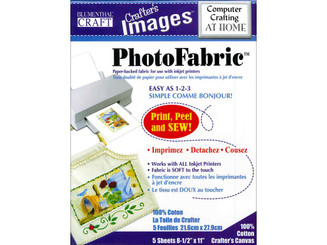 010601016 BLUMENTHAL CRAFTERSIMAGES PHOTOFABRIC CANVAS 5PC