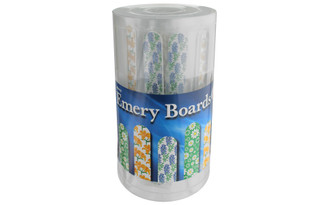 1294-30 ALLARY EMERY BOARDS POP FLORAL 48PC