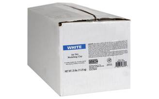 46318R AMACO AIR DRY CLAY 25LB WHITE