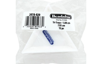 207A-020 BEADALON TRI-TRAYS 12PC