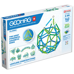 GEOMAG   GEOMAG GEOMAG GREEN LINE COLORS 142 PIECES 274