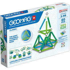 GEOMAG   GEOMAG GEOMAG GREEN LINE COLORS 60 PIECES 272